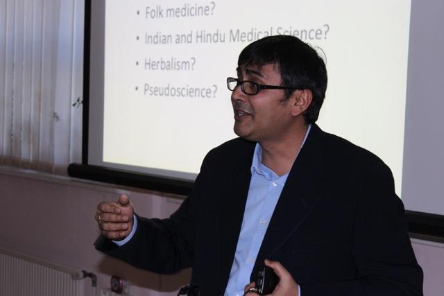 Predavanje dr. Kumarja.