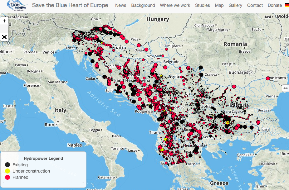 Vir: Blue Heart of Europe