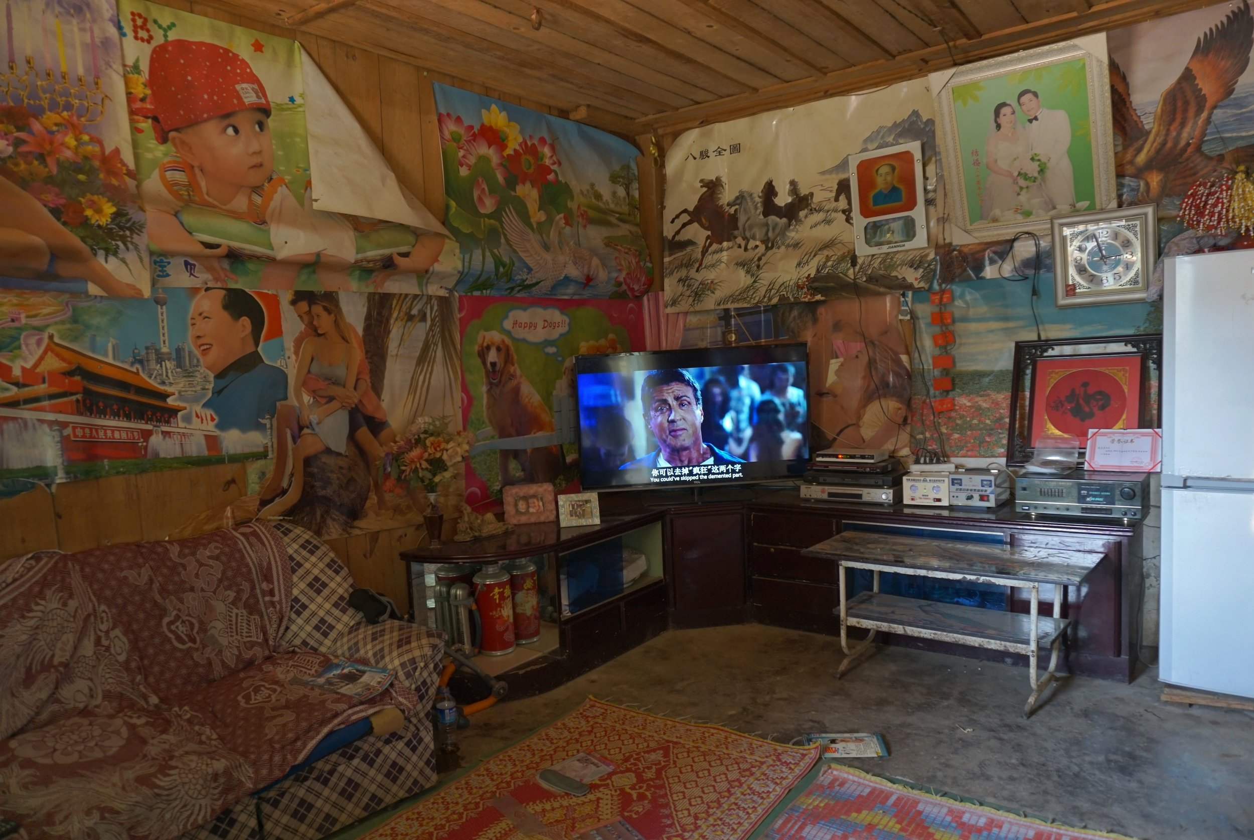 Room of the coolest young guy in the village.JPG
