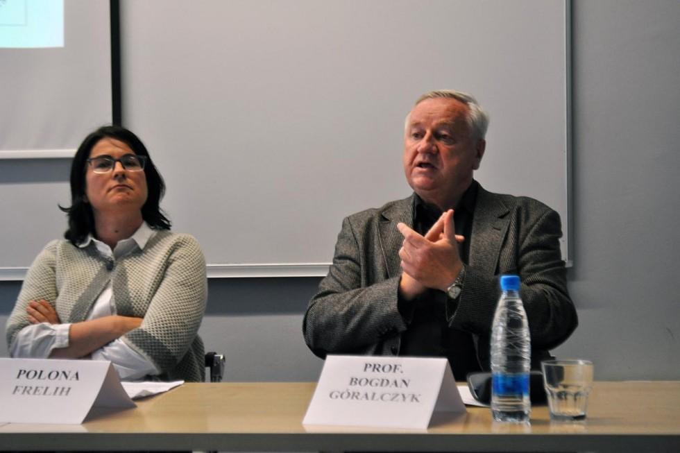 Okrogla miza študentskega društva Globallis na Fakulteti za družbene vede. Foto: organizator.