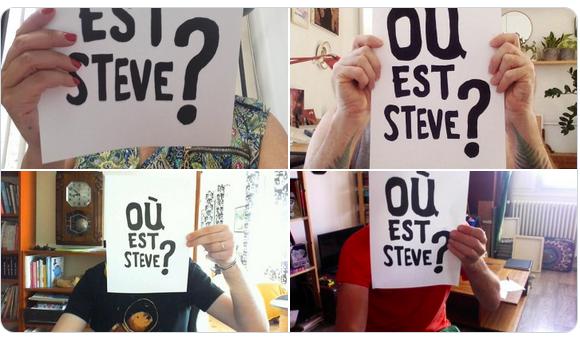 Twitter #OuEstSteve