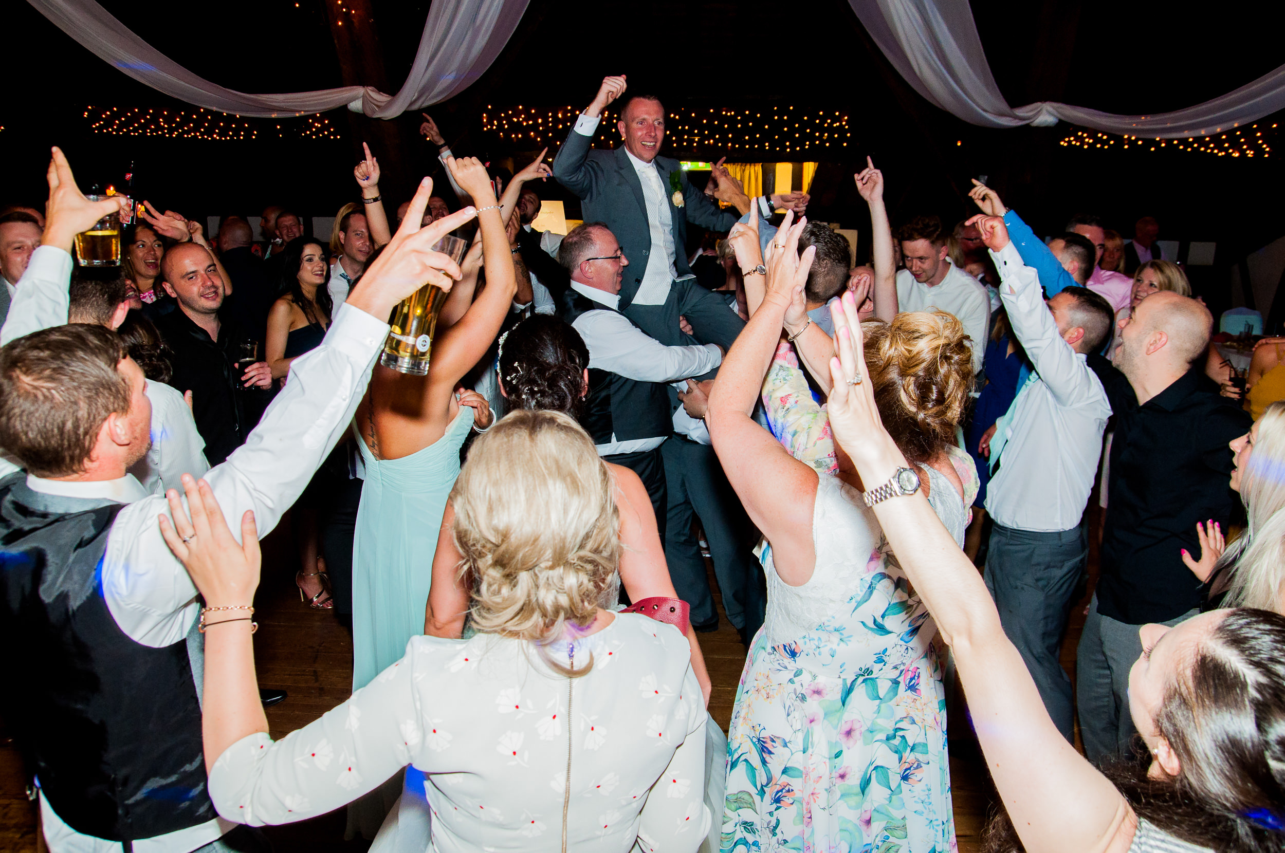 Rivington Barn - All Day Wedding Host and DJ