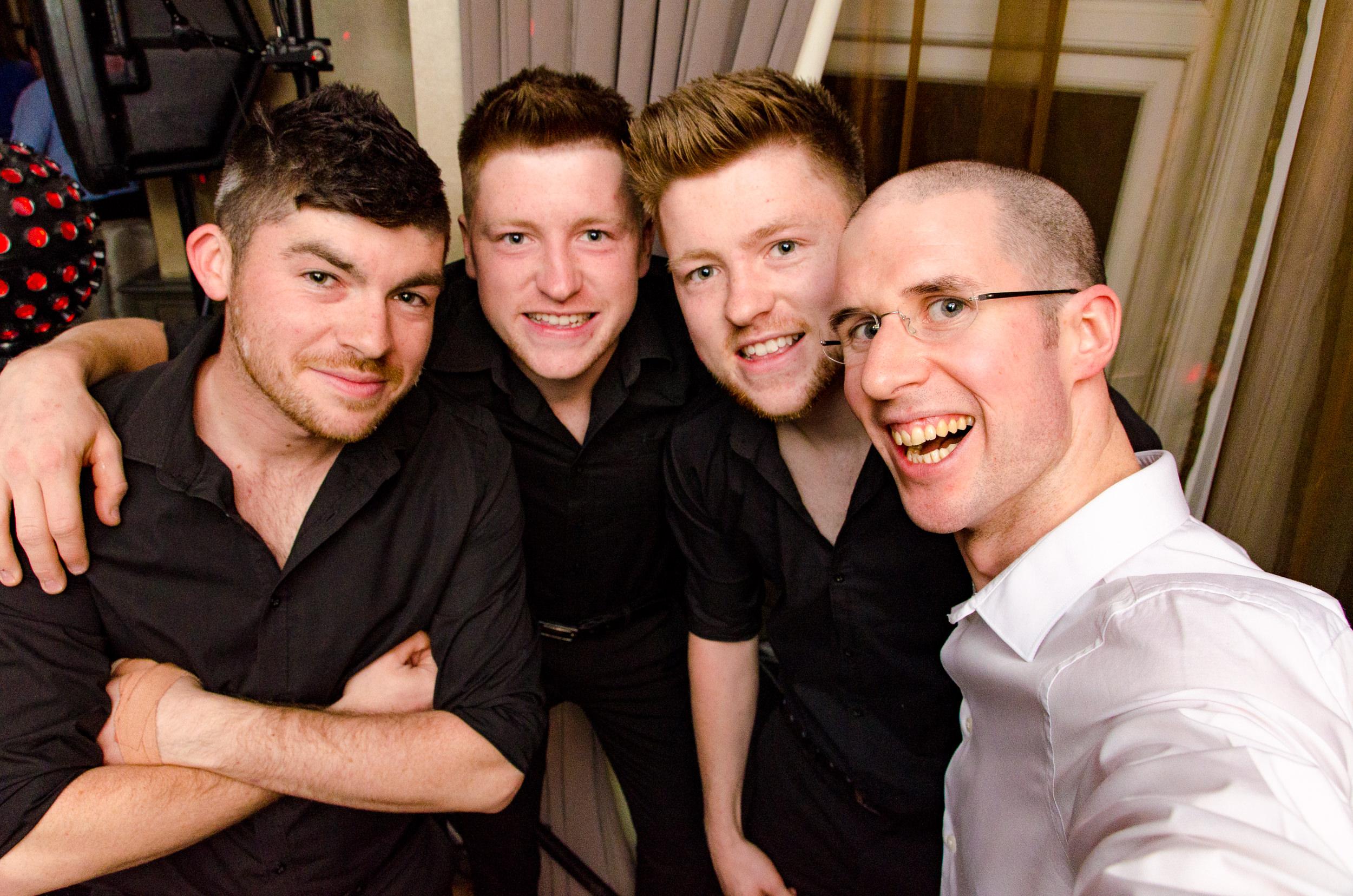 Sean, Brendan and Kieran Hester