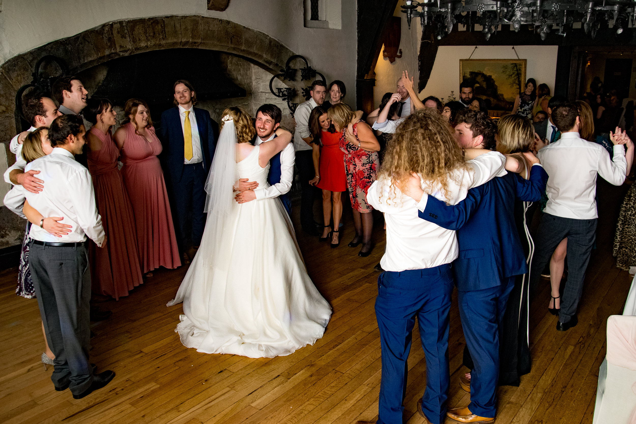 Samlesbury Hall first dance played by Lizzie and Ian's Wedding DJ Adam Carr.