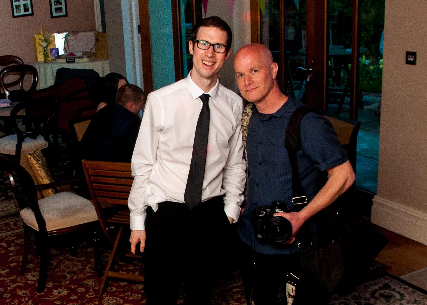 Wedding-DJ-Adam-Carr-and-Wedding-Photographer-Steve-Gerrard