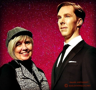 Benedict Cumberbatch and me at Madame Tussaud's London