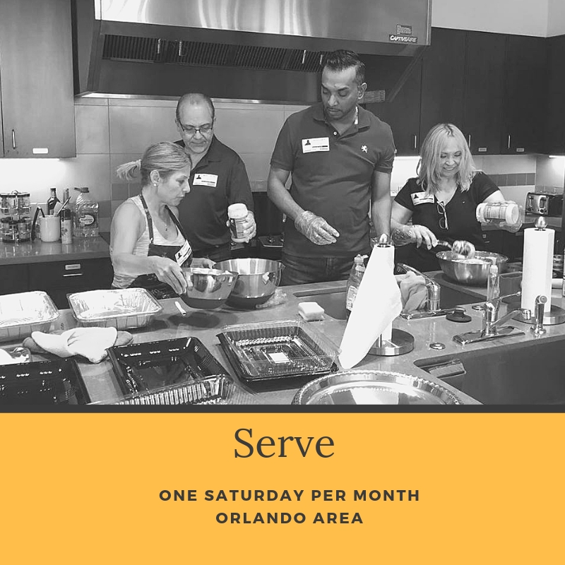 Do you have a heart to be the hands and feet of Jesus throughout the City of Orlando?  Serve City Group joins together to make a difference by serving throughout the city. Projects vary and are typically once per month.