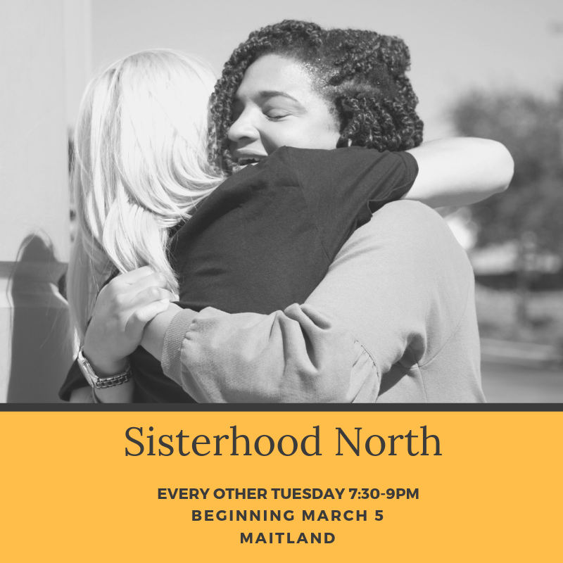 Calling all ladies of North Orlando/ Seminole. We are ladies of all ages and stages who meet to do life together. Give yourself a well-deserved break to unwind with laughter and sisterhood! In our time together we will fellowship, study the Bible, discuss, pray, support, inspire, and serve others. We absolutely love your little ones, but this time is just for you.