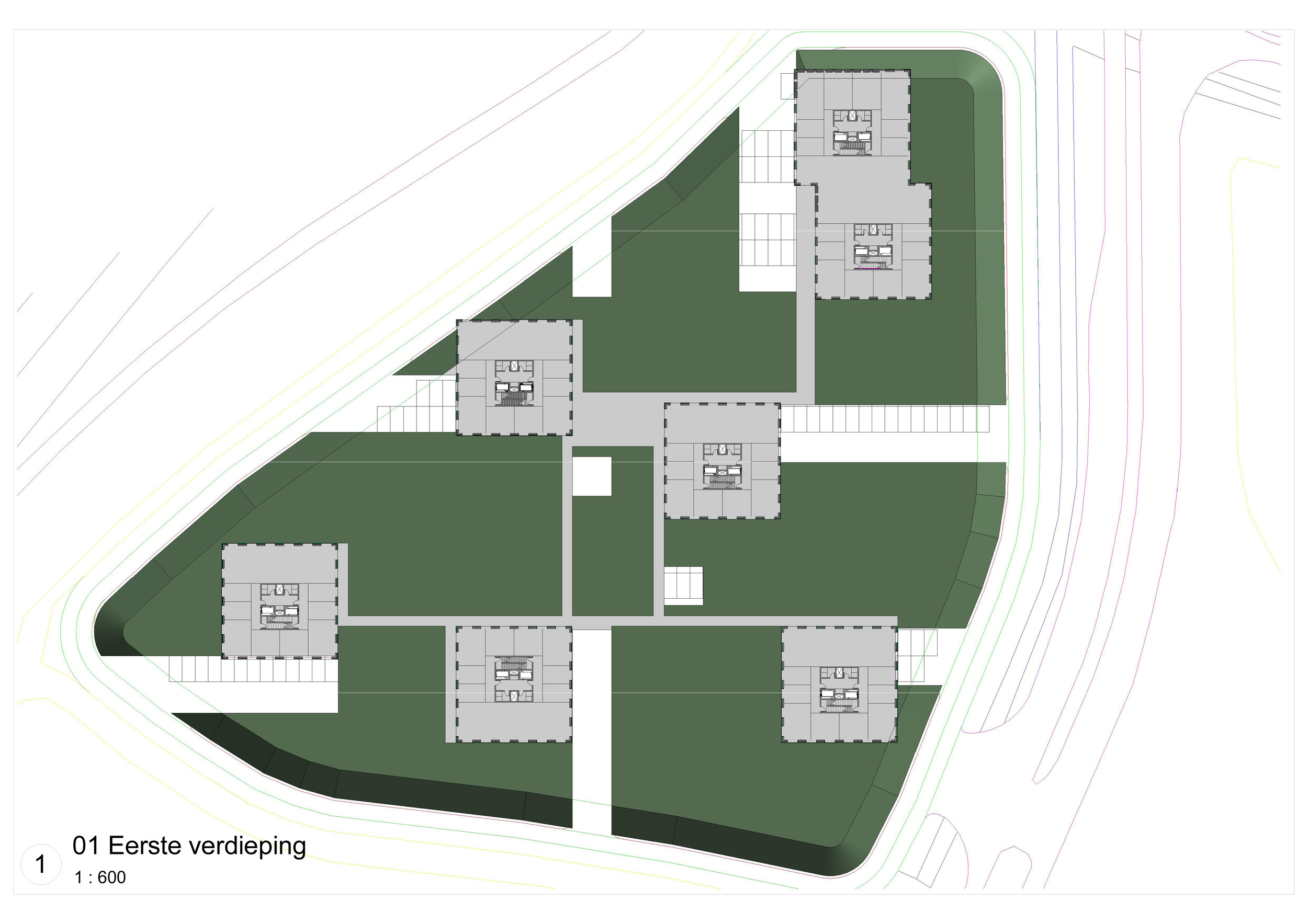 P8,  Kantoorbebouwing - Alkmaar