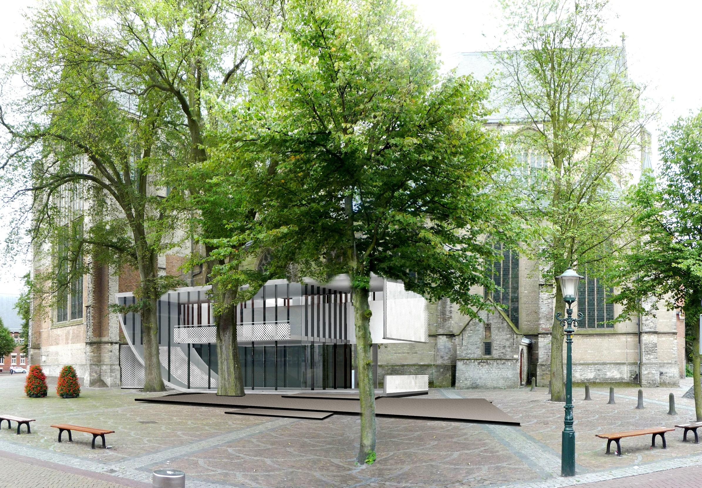 Entree Gr.St. Laurenskerk Alkmaar