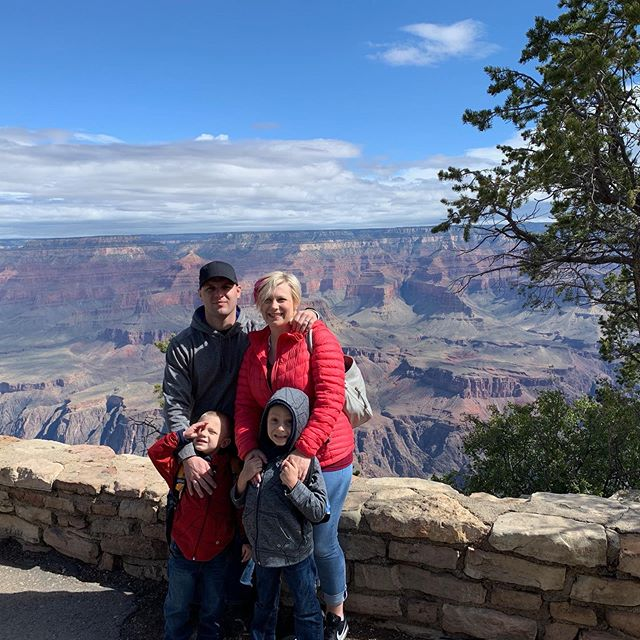 Exploring the Grand Canyon today!