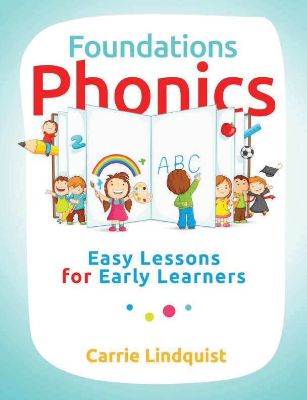 Teach your child to read - Foundations Phonics is your simple, easy-to-follow, super fun guide for the process.