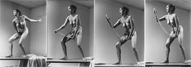 Carolee Schneemann.  Interior Scroll , 1975 (still);Performance. Performed at East Hampton, New York, and the Telluride Film Festival, Colorado.Courtesy the Artist.