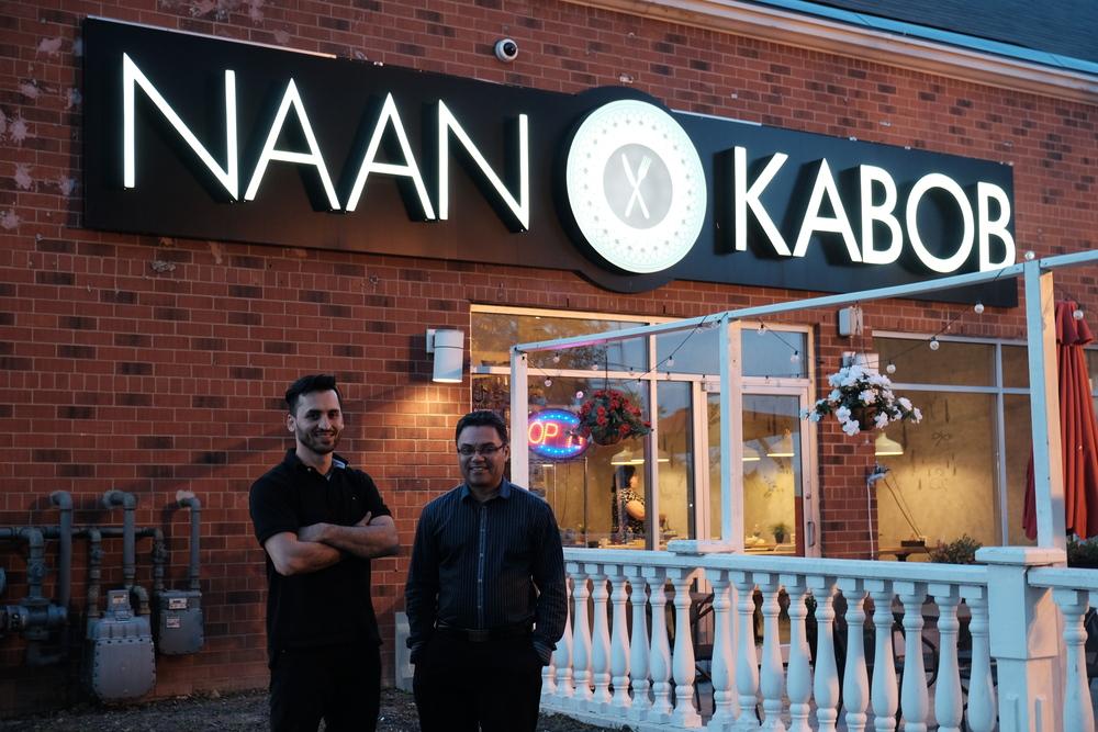 Naan and Kabob