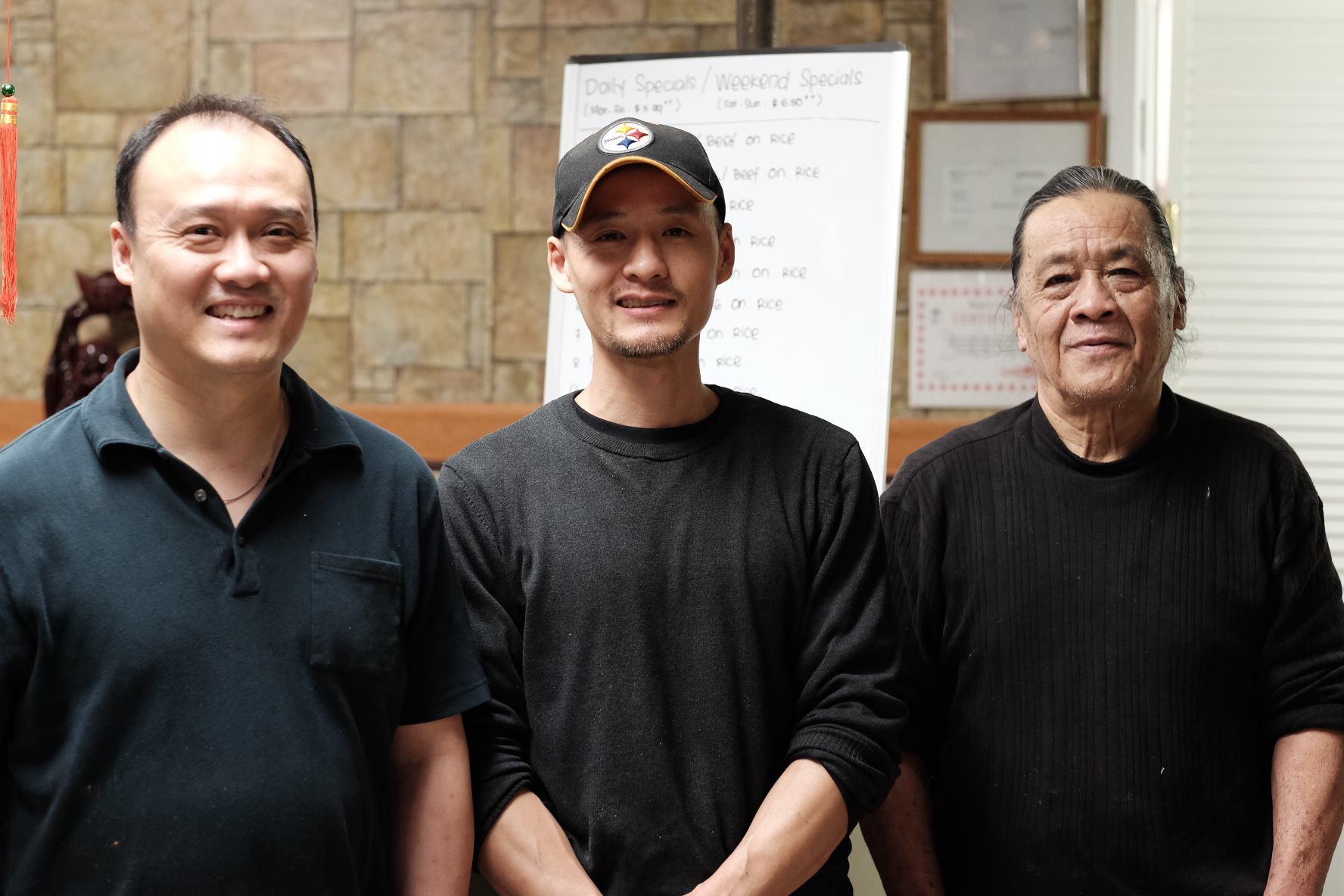 Dave, Edward and Sam (Father)