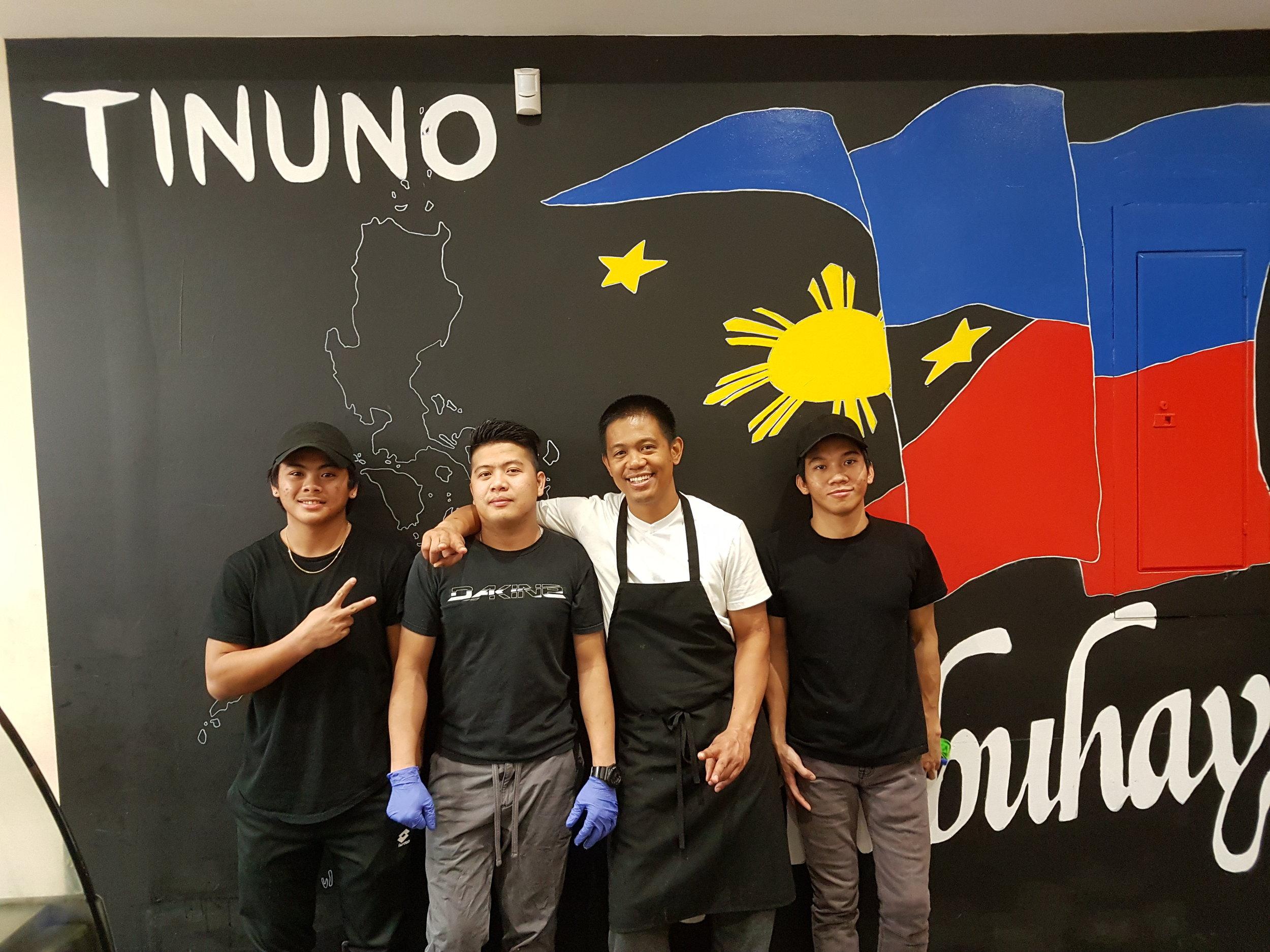 Amadeo, Zeus, Gerald and Miguel