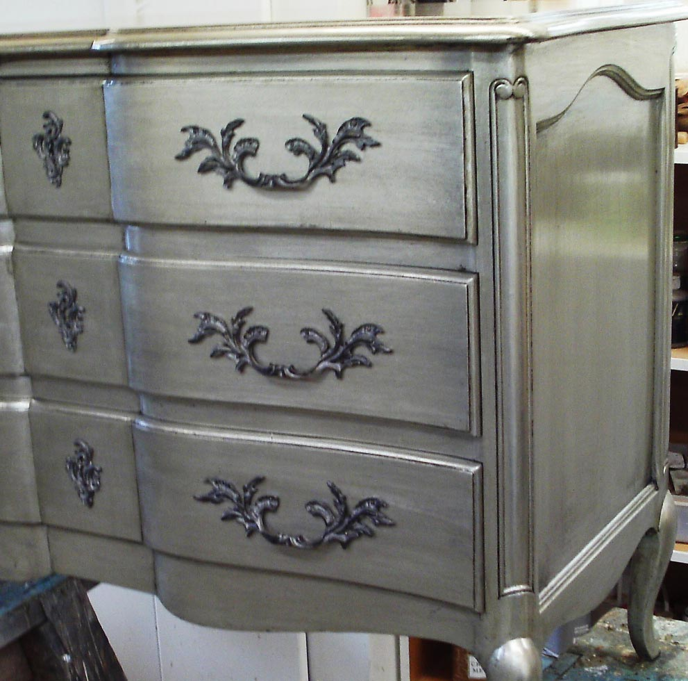 Silver-leaf finish Decorative Painting
