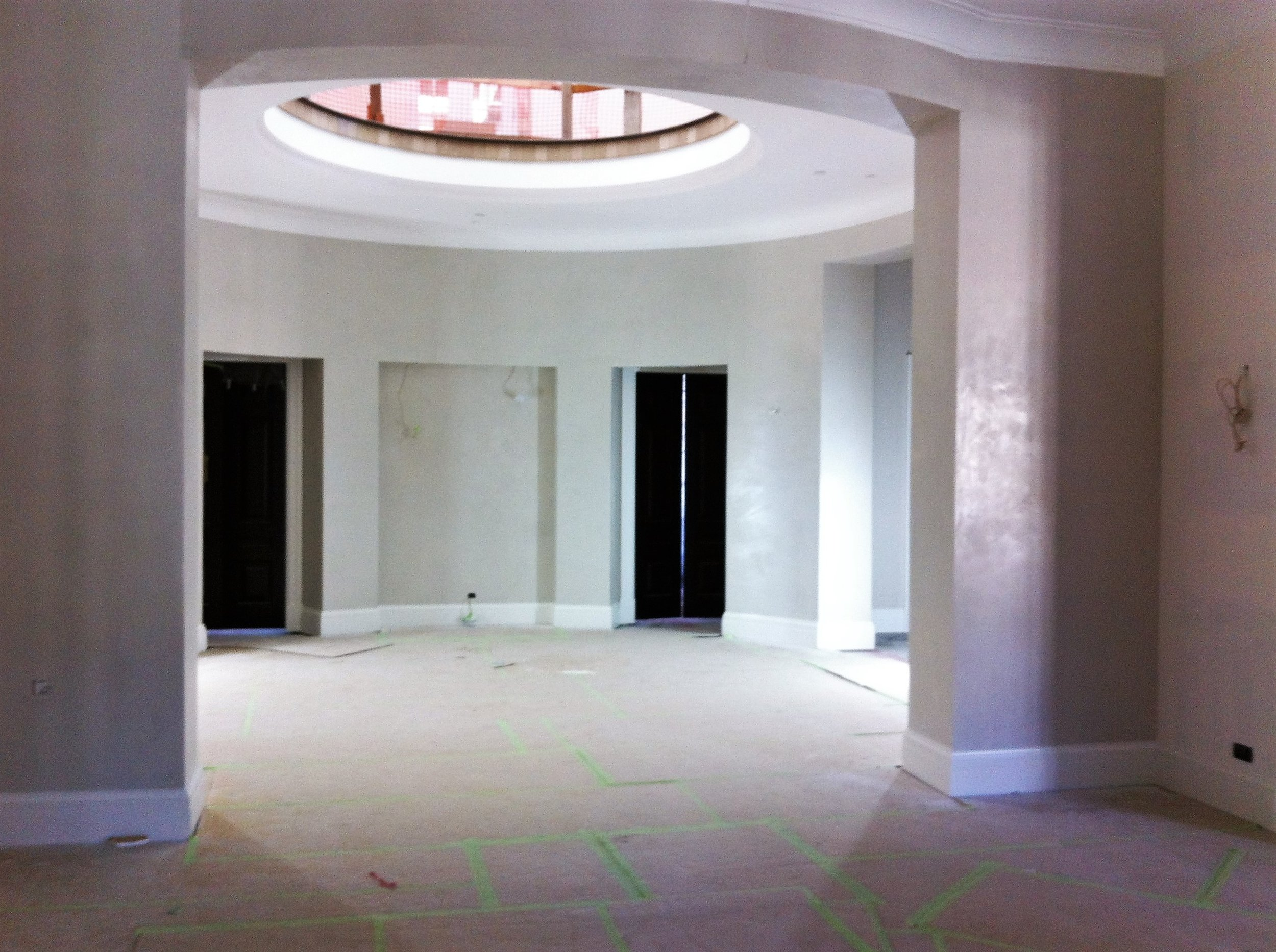 Venetian or Fresco plaster for a South Island residence.