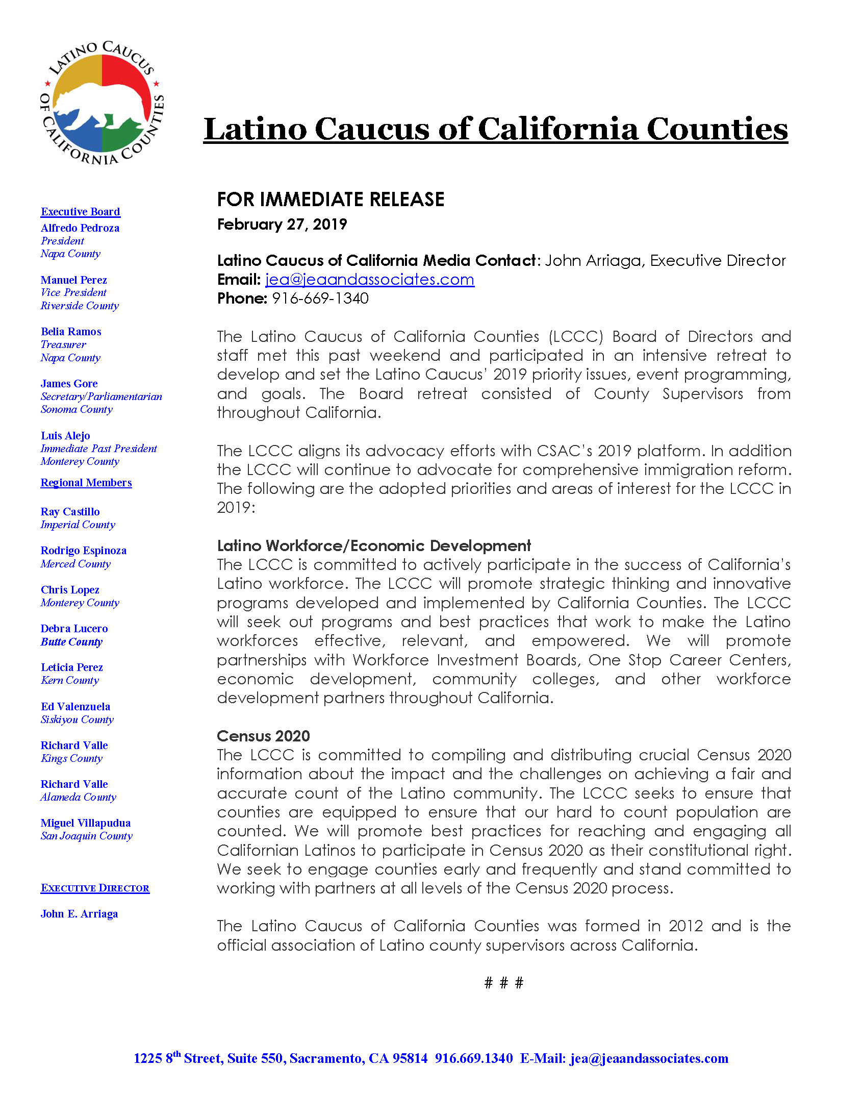 Press Release- LCCC Priorities 2019.png
