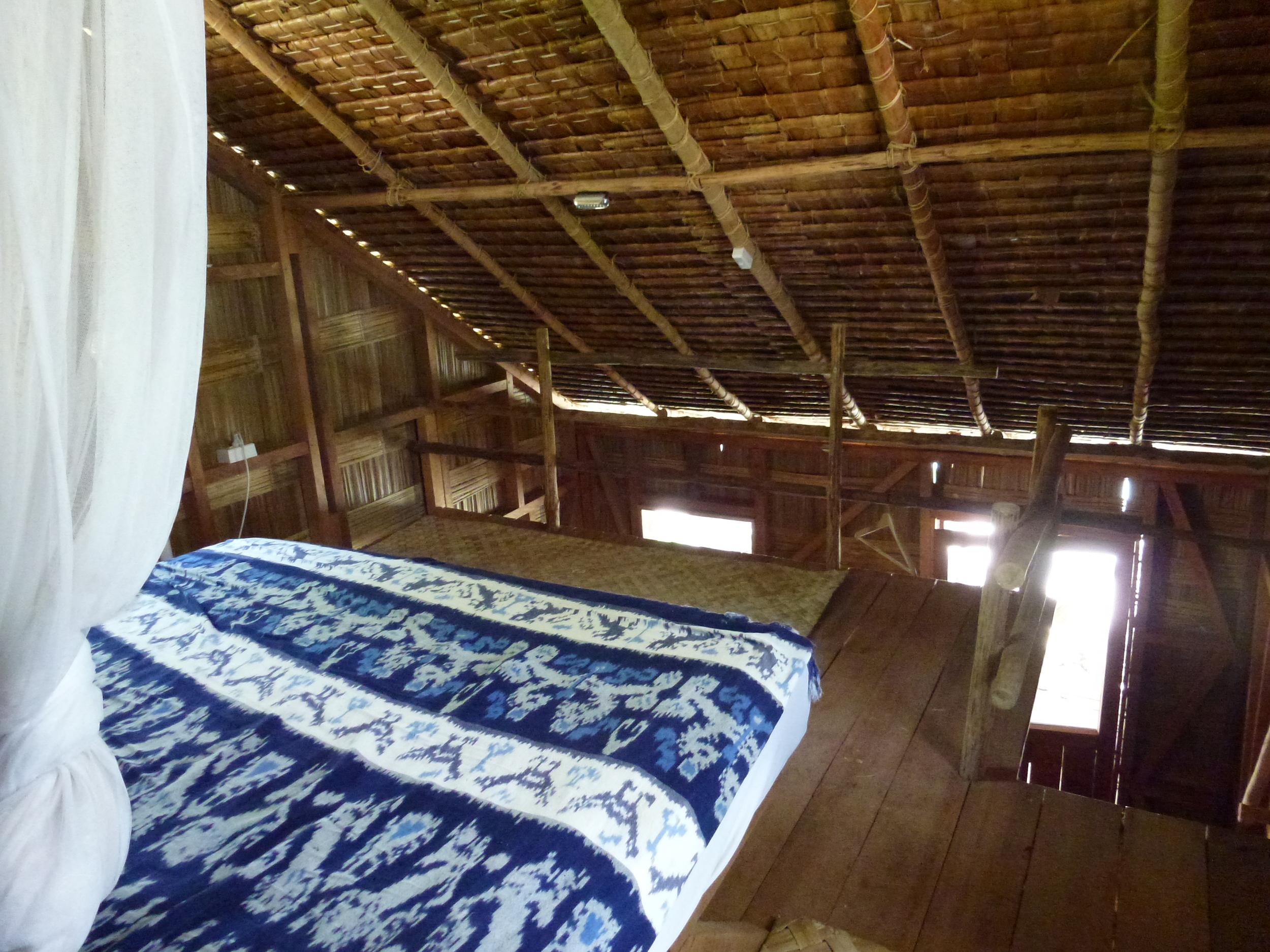 upstairs of loft bungalow