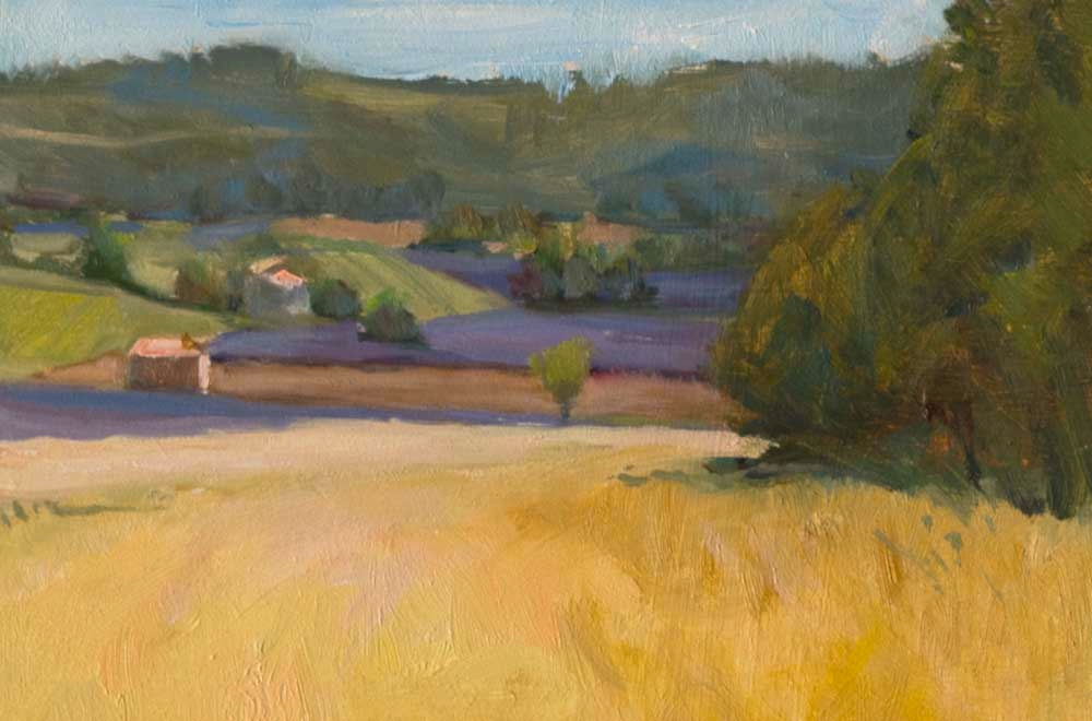 Lavender and Wheat, Provence