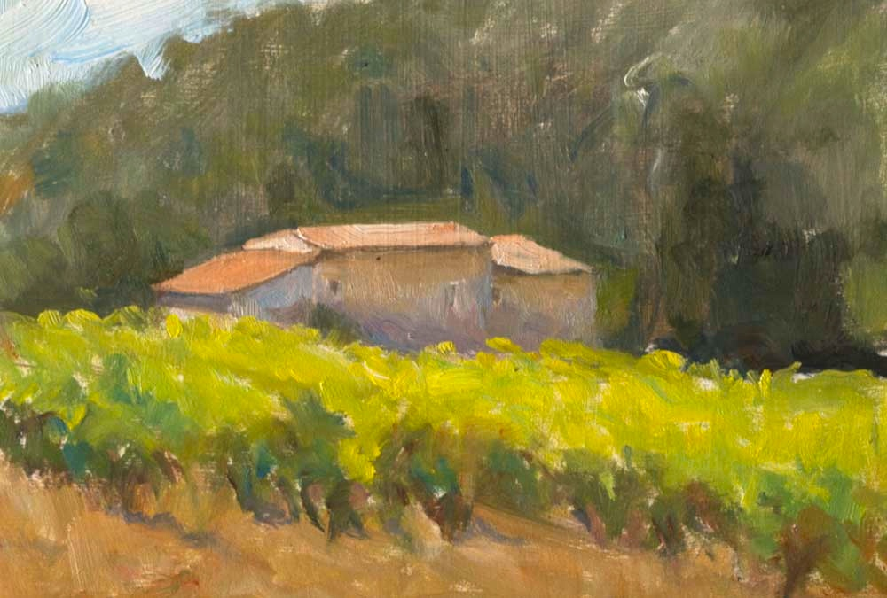 Farmhouse in the Vineyards, Summer