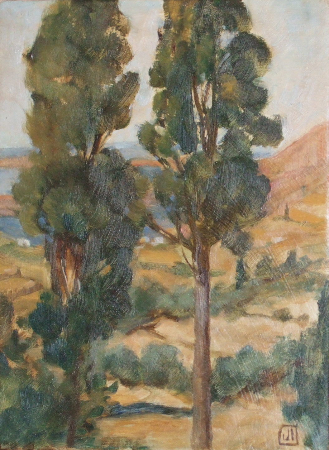 Two Cypress, Paros
