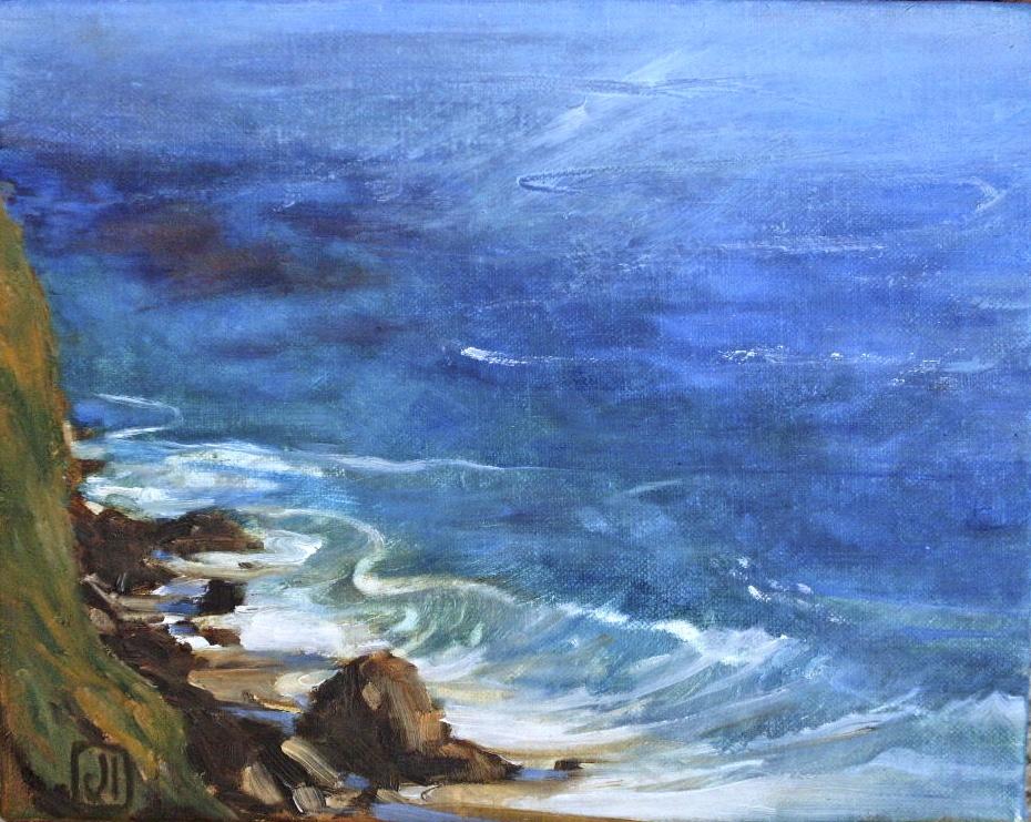 Ocean Calligraphy