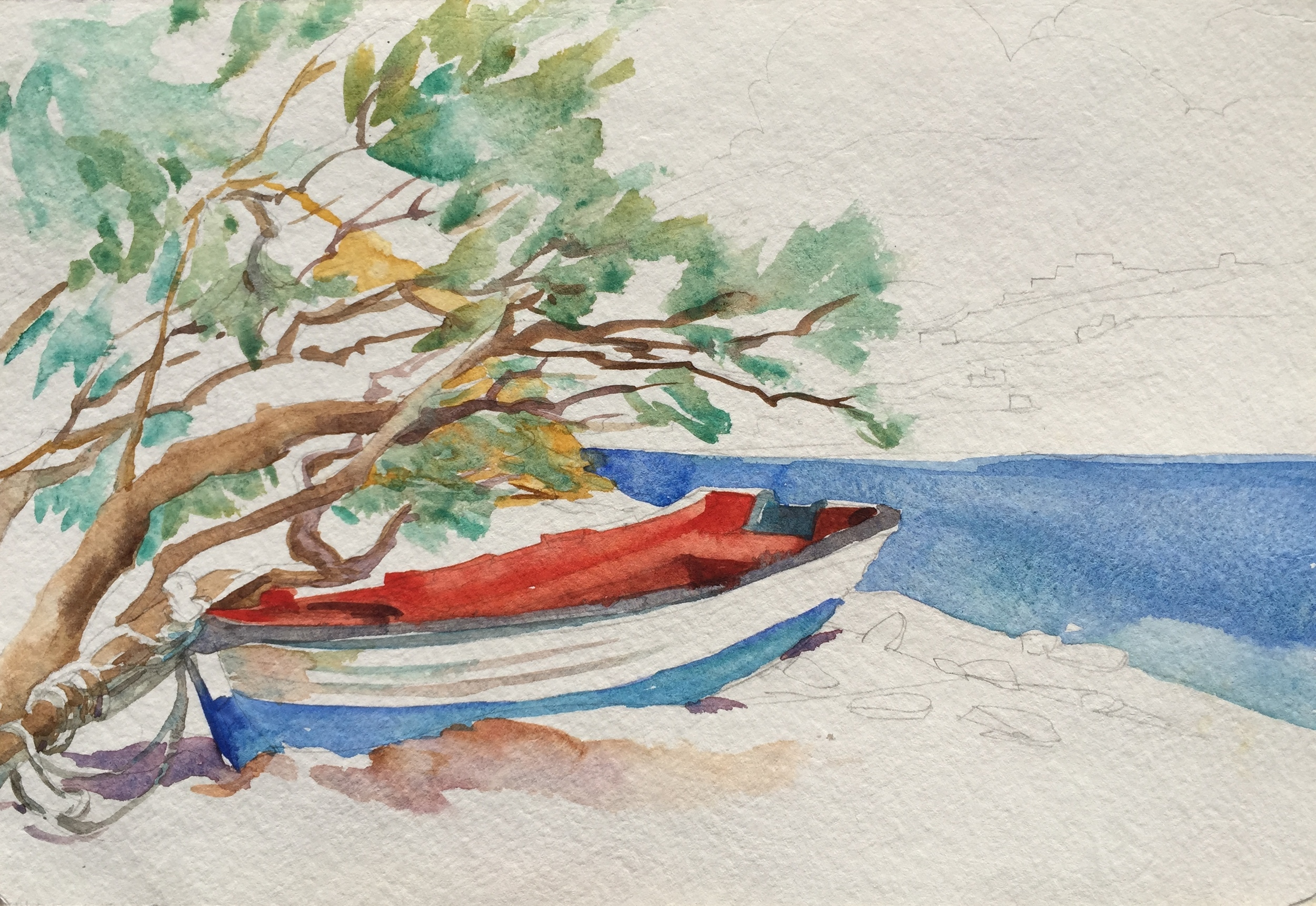 Little Greek Boat, Amorgos