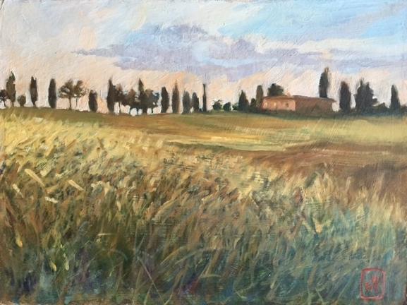 Olena, a farmhouse in Tuscany
