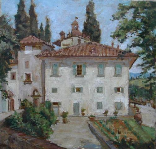 Villa Triboli, l'Orto