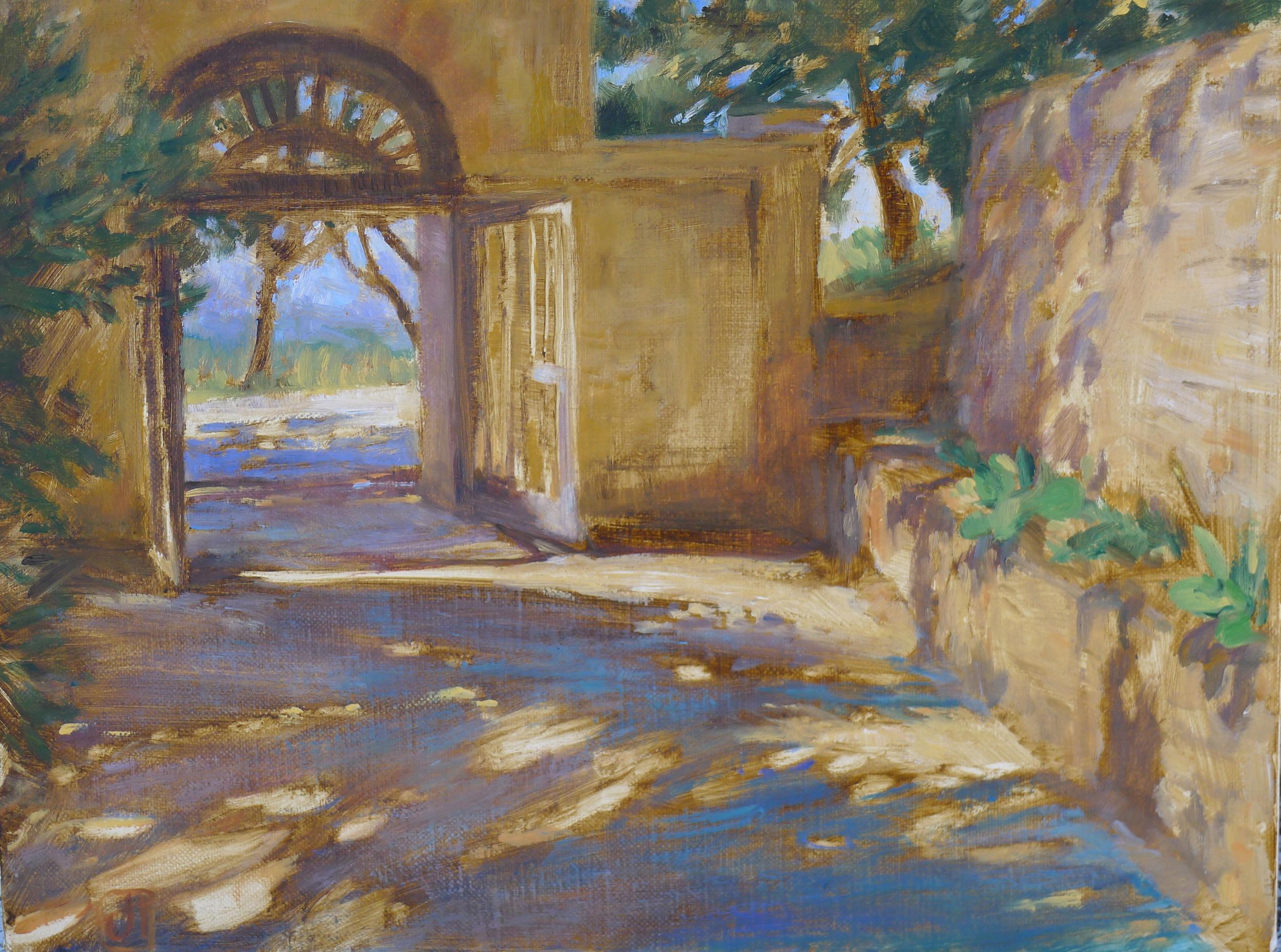 Gateway, Villa Le Querciolaie