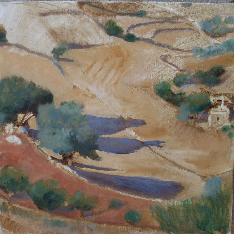 Paros, little farm