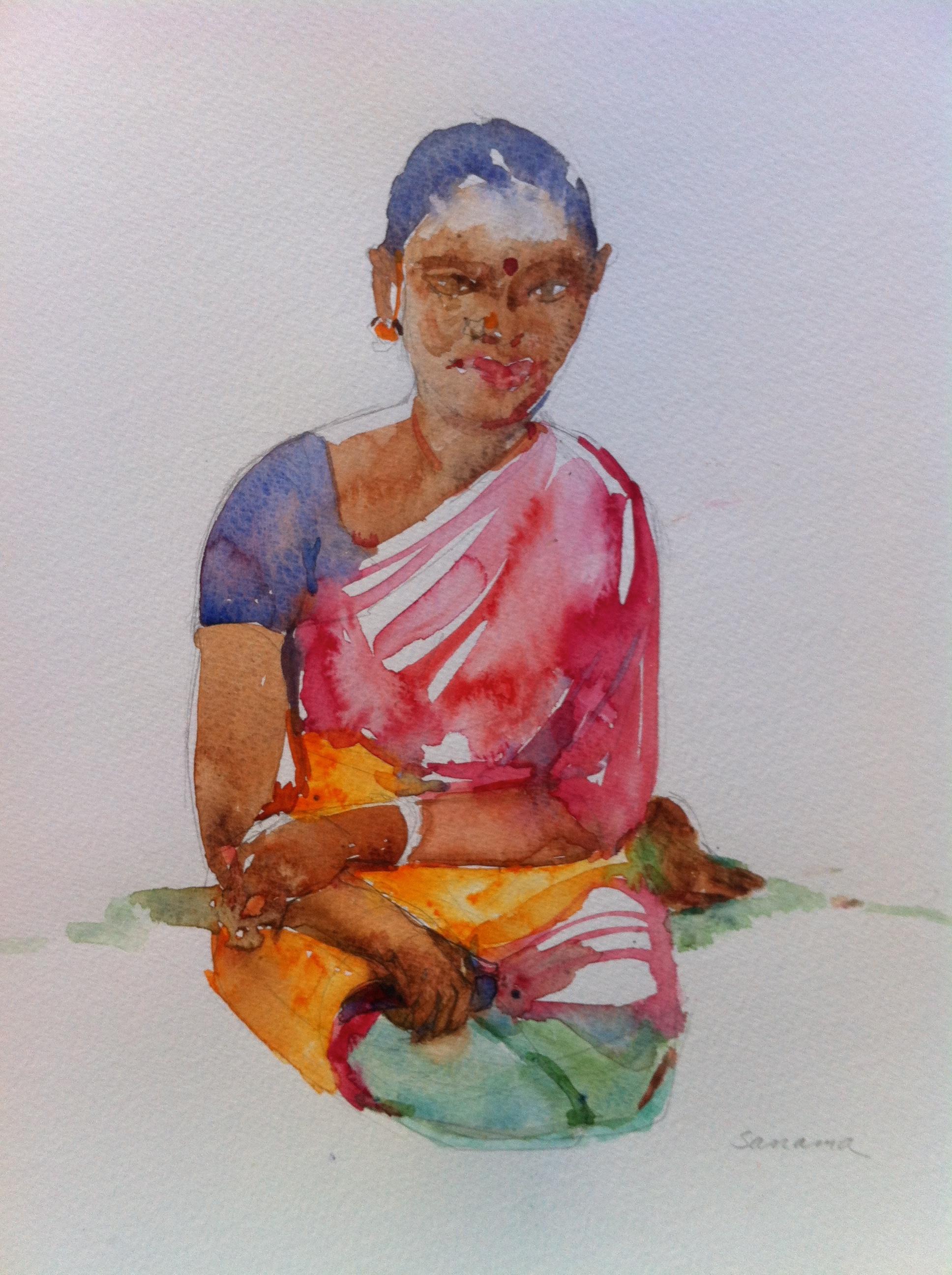 In the Garden, Tamil Nadu
