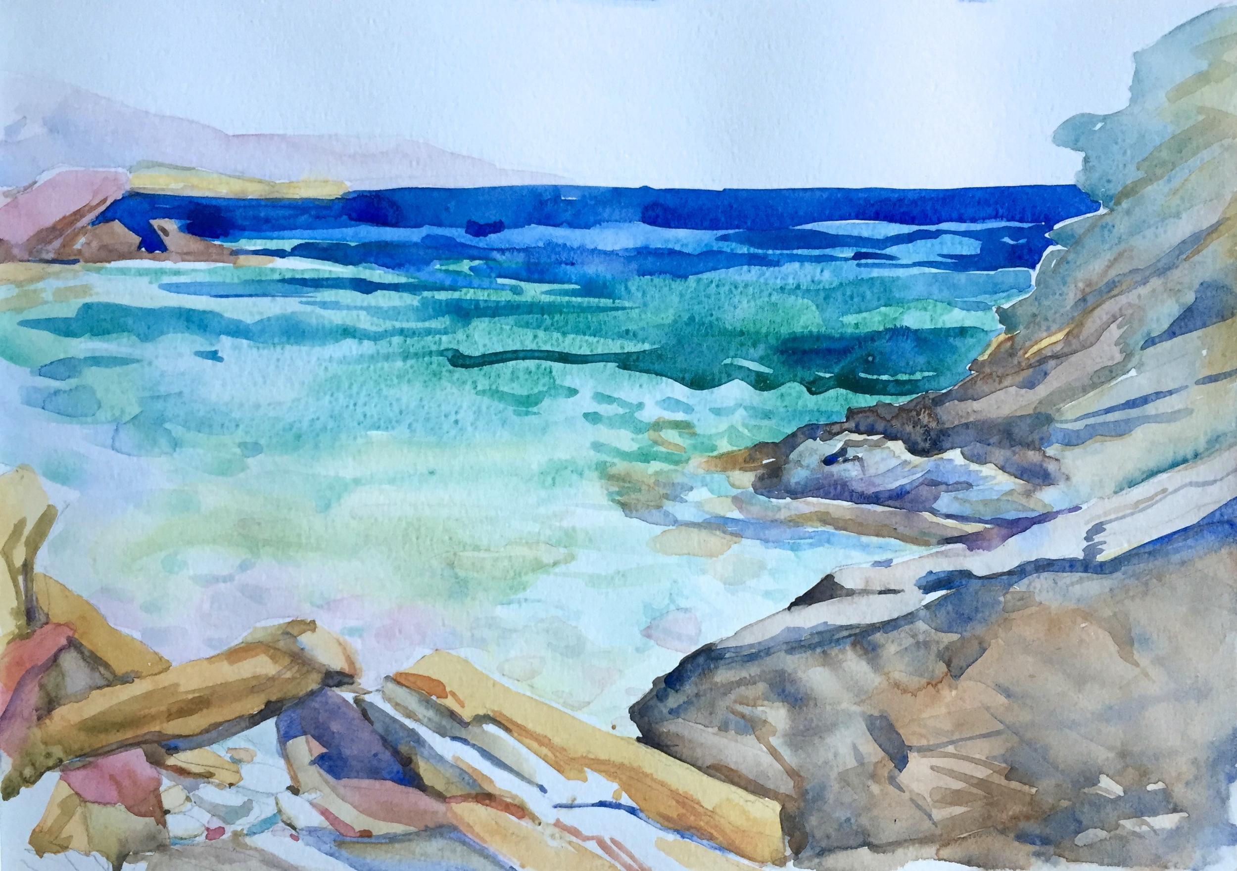 Marble Cove, Paros
