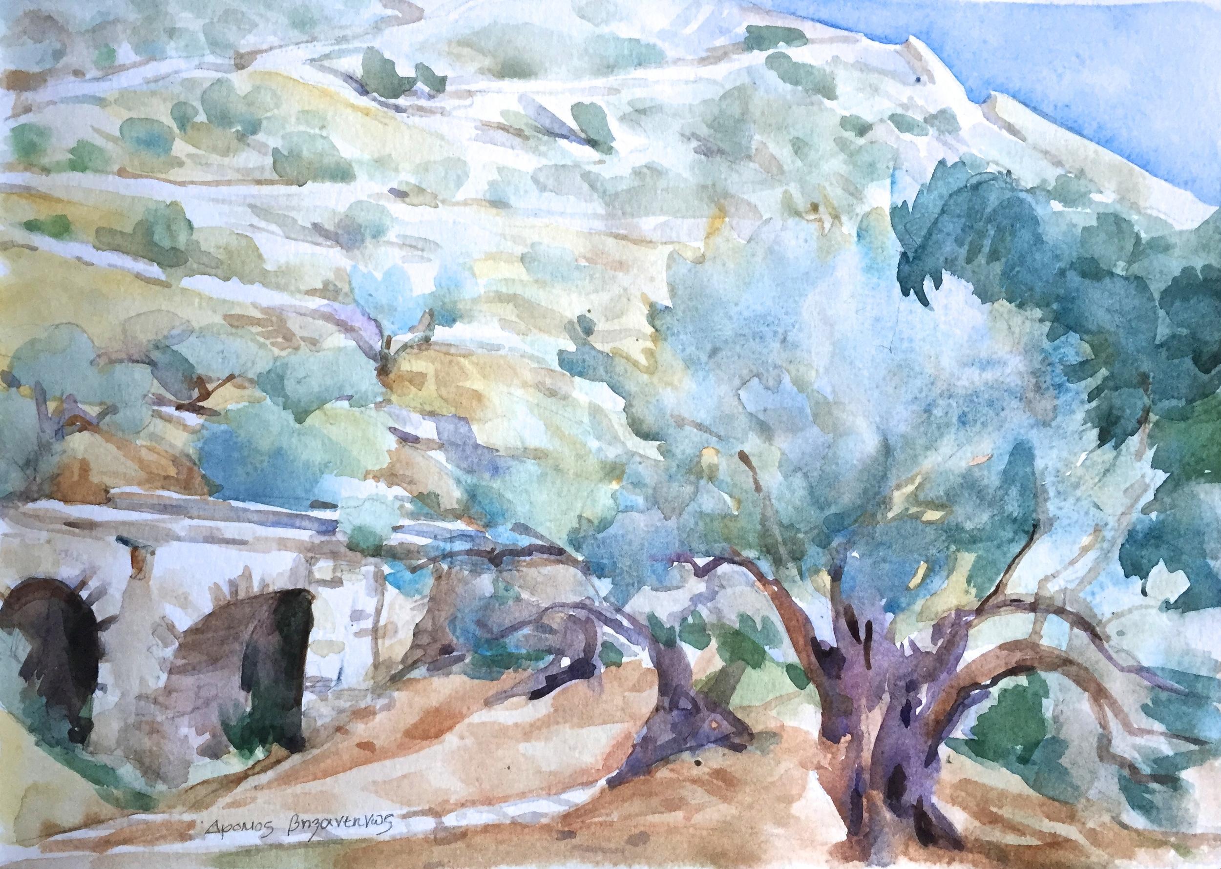 Byzantine Path, Paros