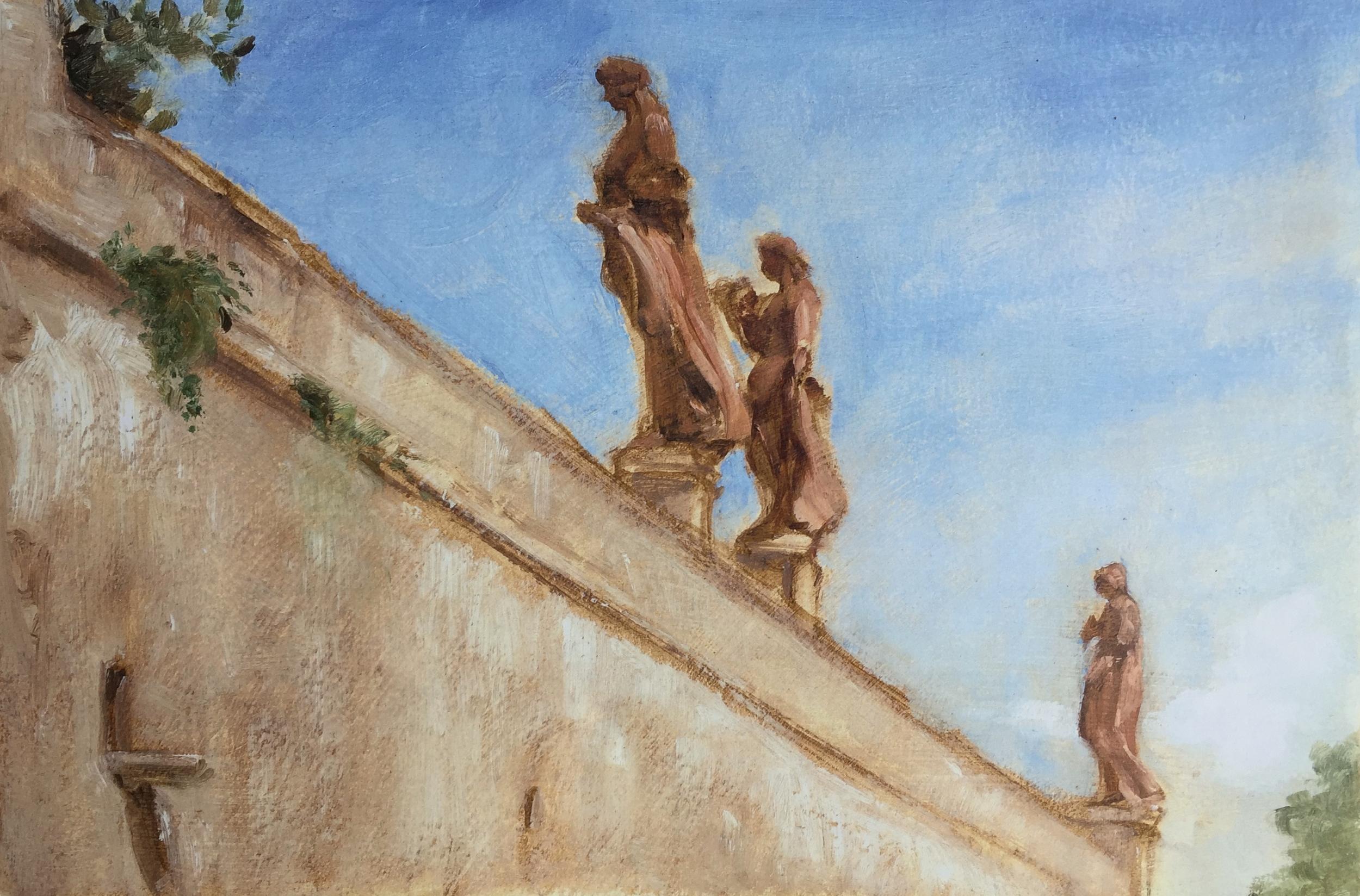 Terracotta Statues, Villa Corsini