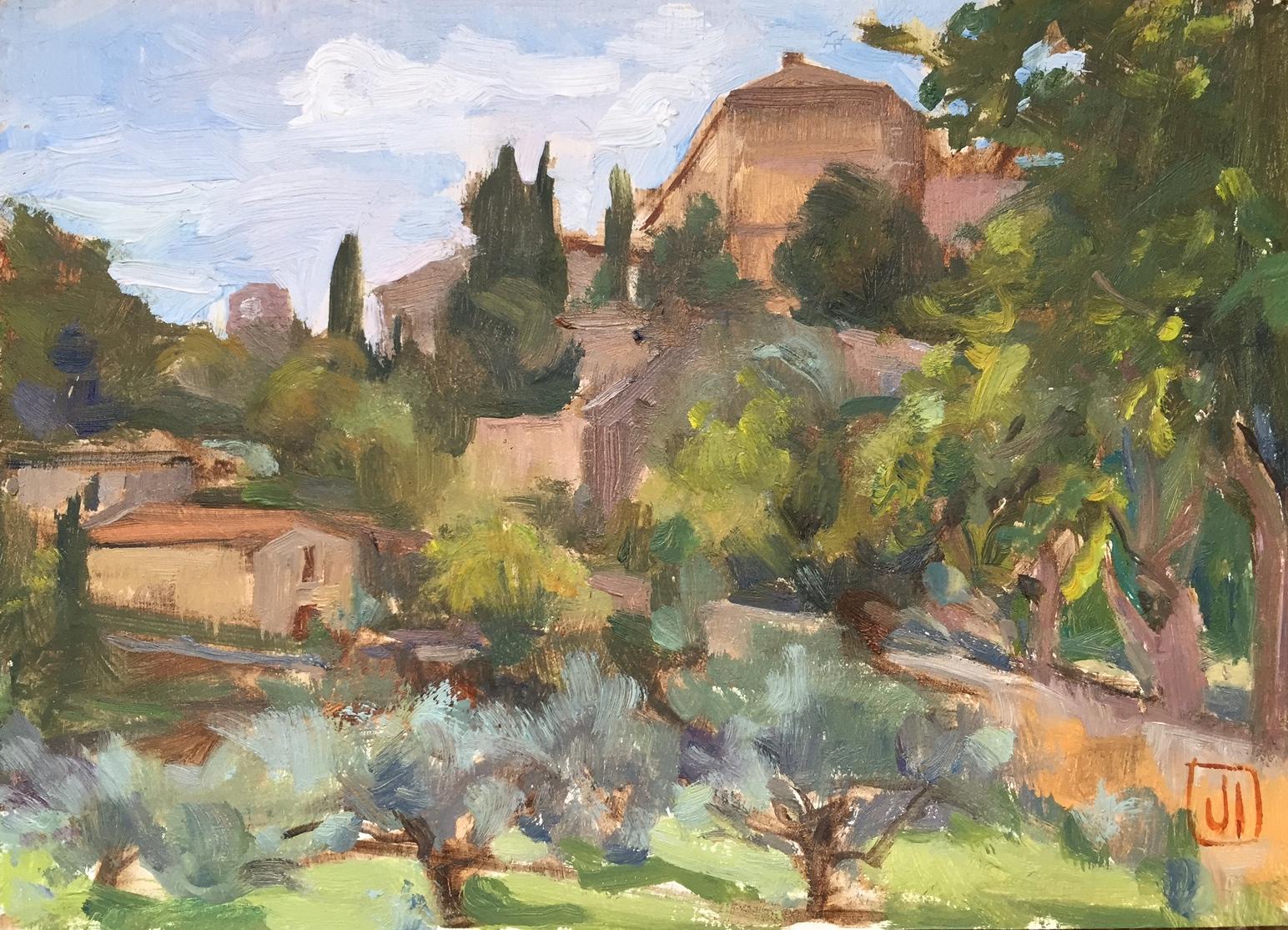 Ansouis, the village