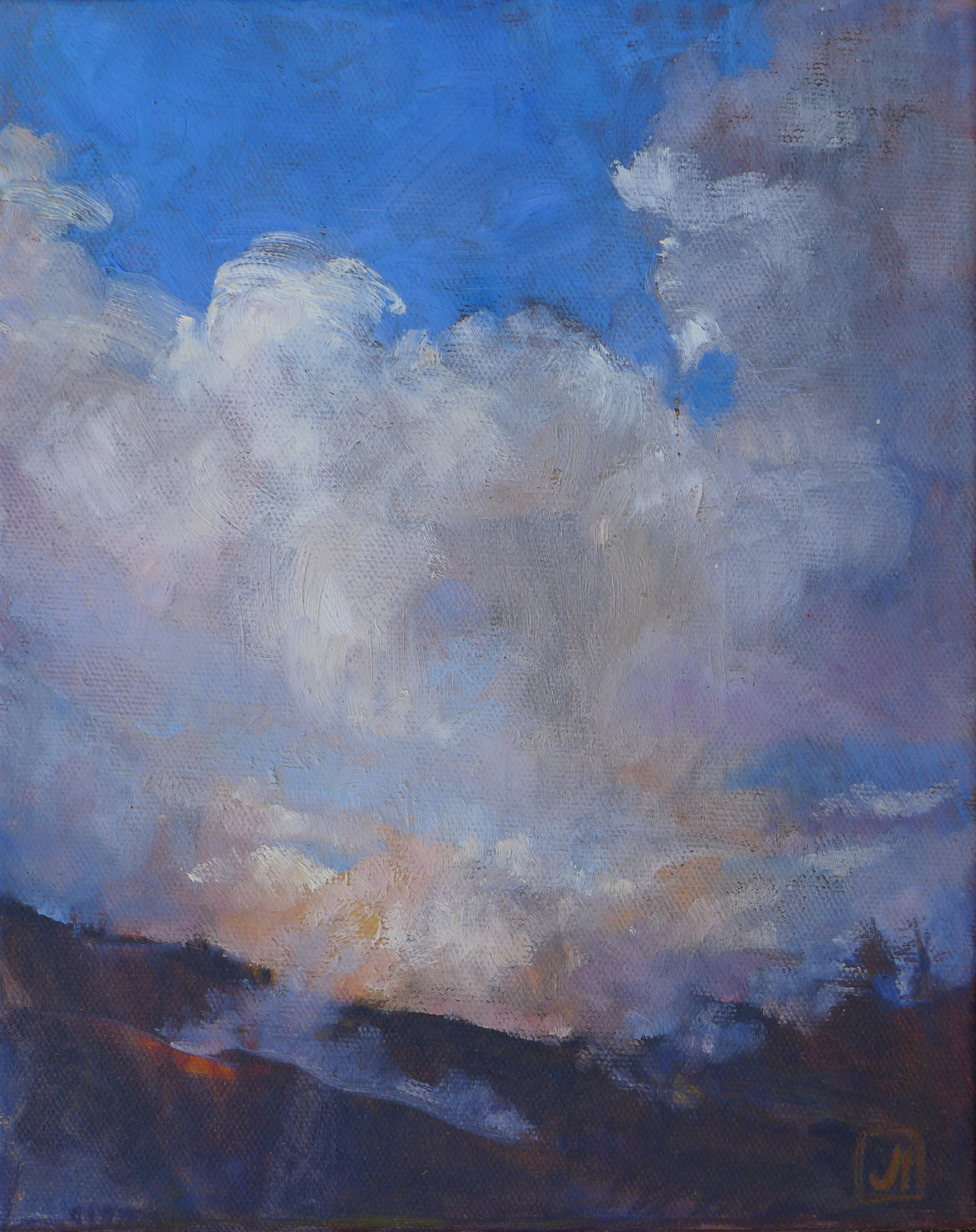 Last Light on the Ridge, Big Sur
