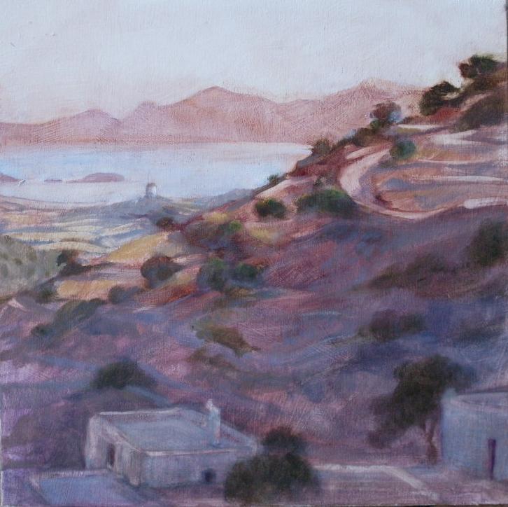 Farmhouse on Paros, early morning