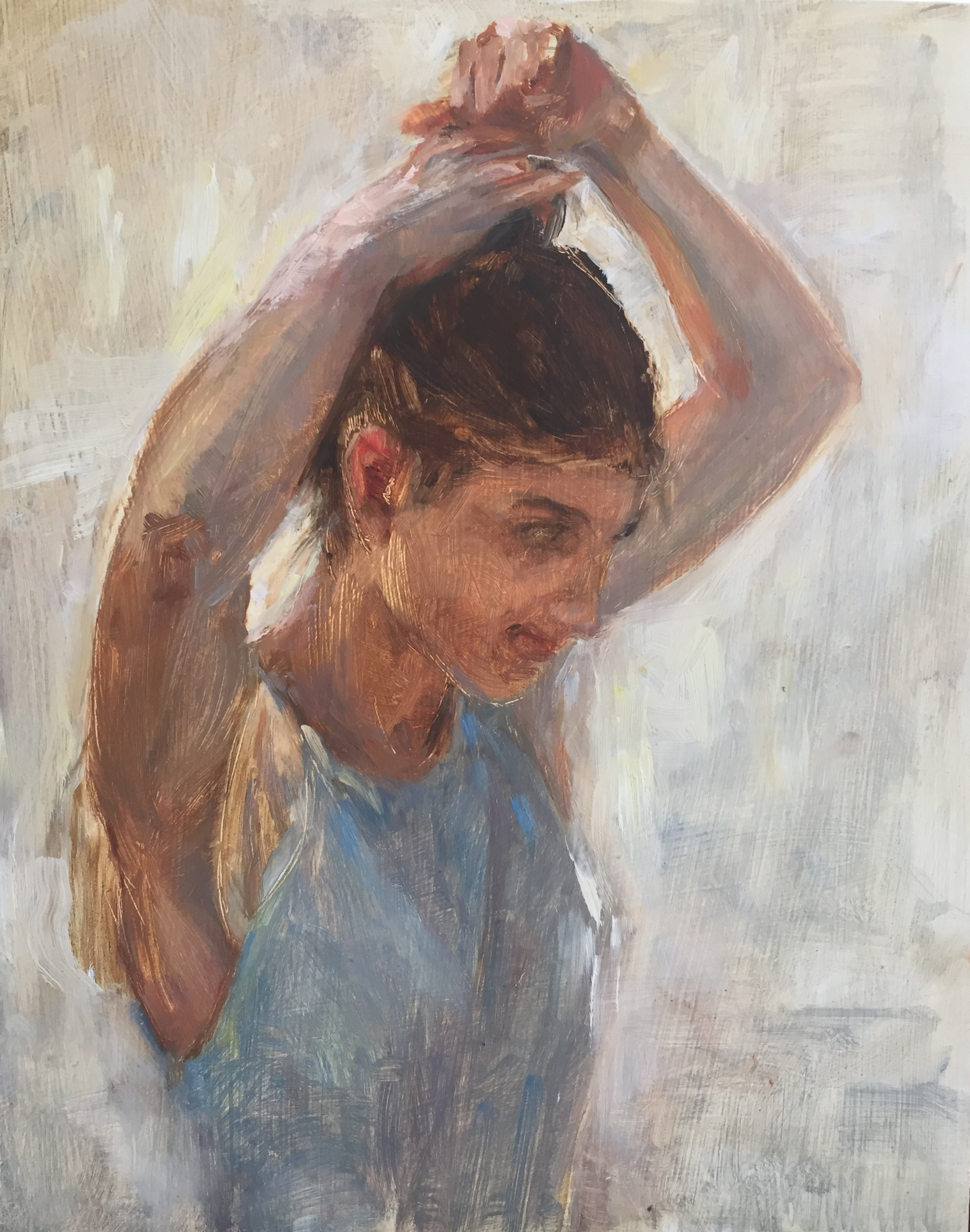 Girl of Langkada, Amorgos