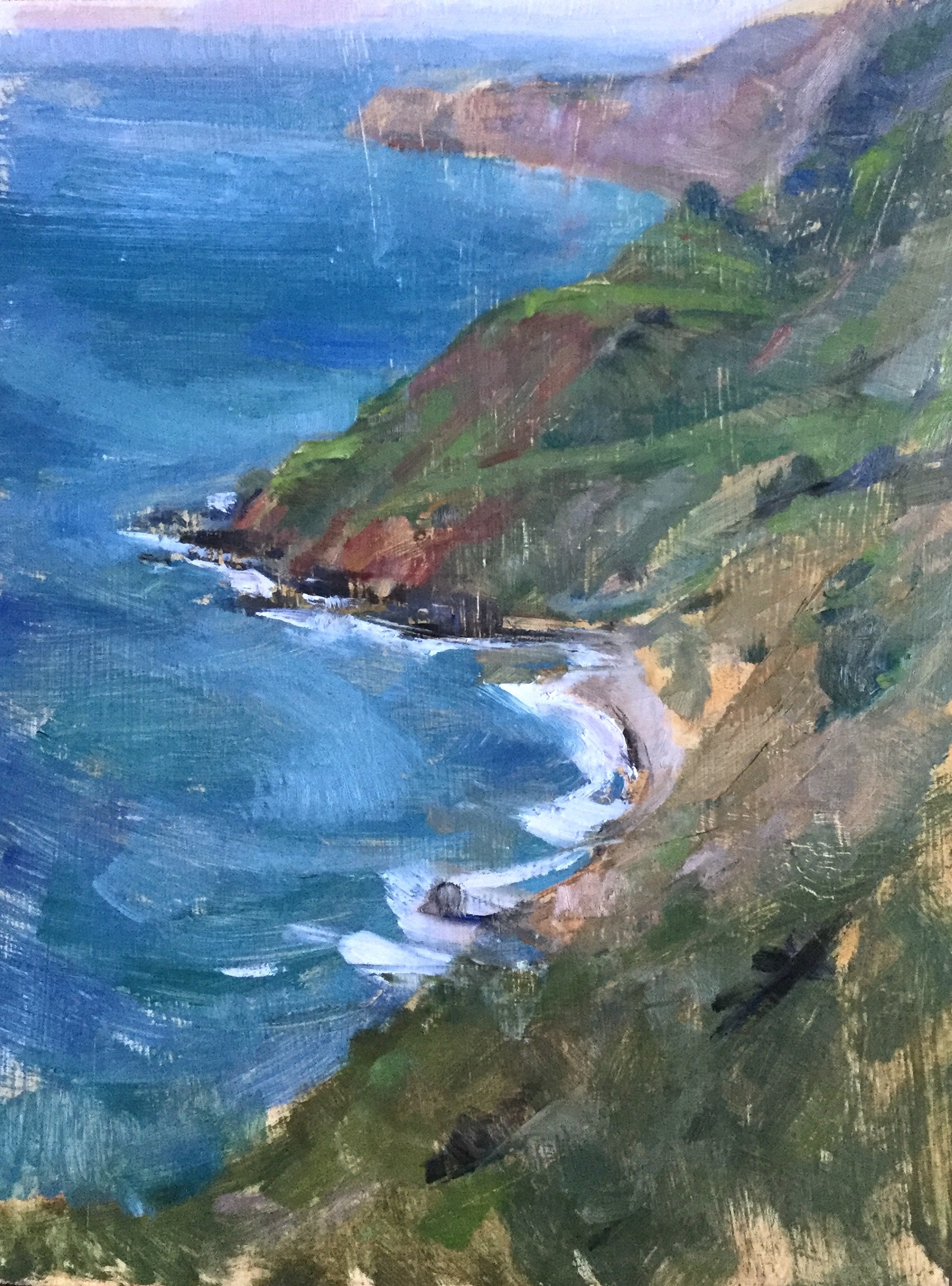 Spring on the Coast, Big Sur