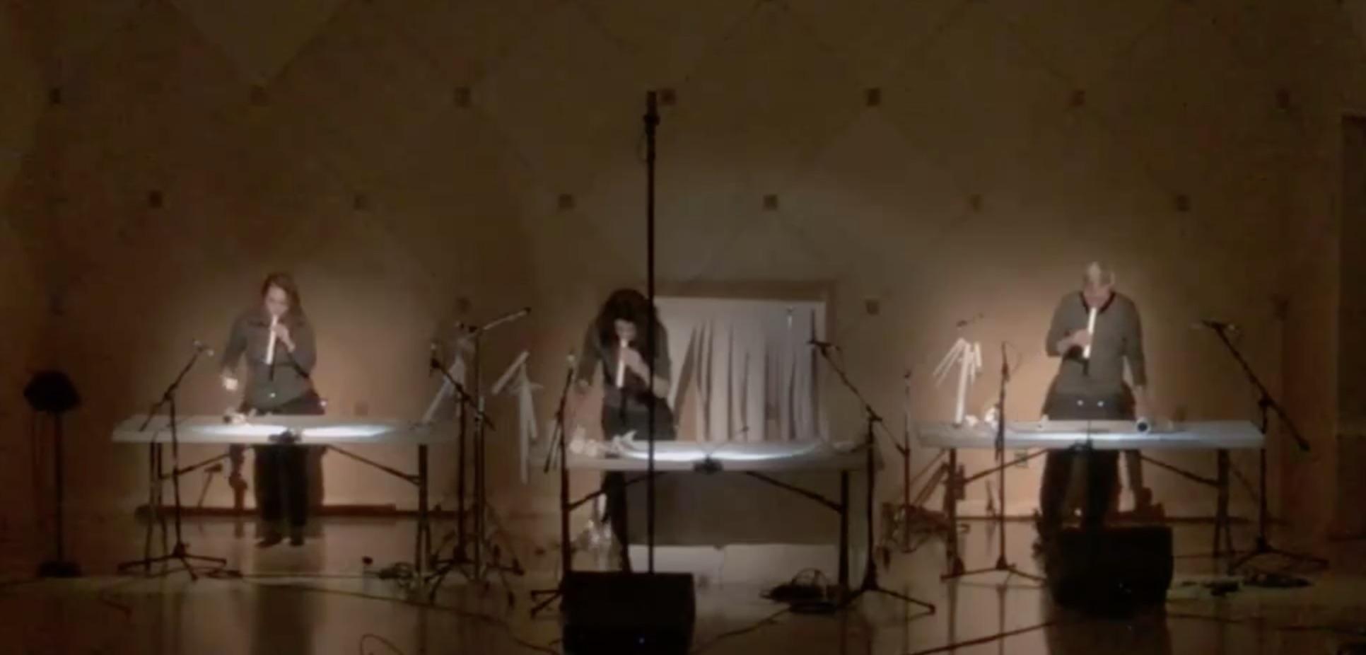 Kotoka Suzuki. Premier of  In Praise of Shadows.  Performed by ACME: Lisa Atkinson, Arian Abdollahi, & Bryan Hummel.