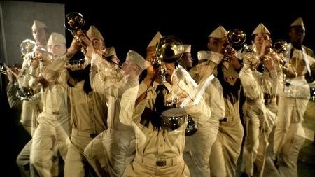 Kotoka Suzuki. Scoring and sound design for the video work  Anthem  by Geof Oppenheimer..