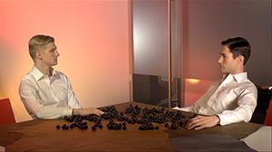 Kotoka Suzuki. Scoring and sound design for the video work  DRAMA  by Geof Oppenheimer.