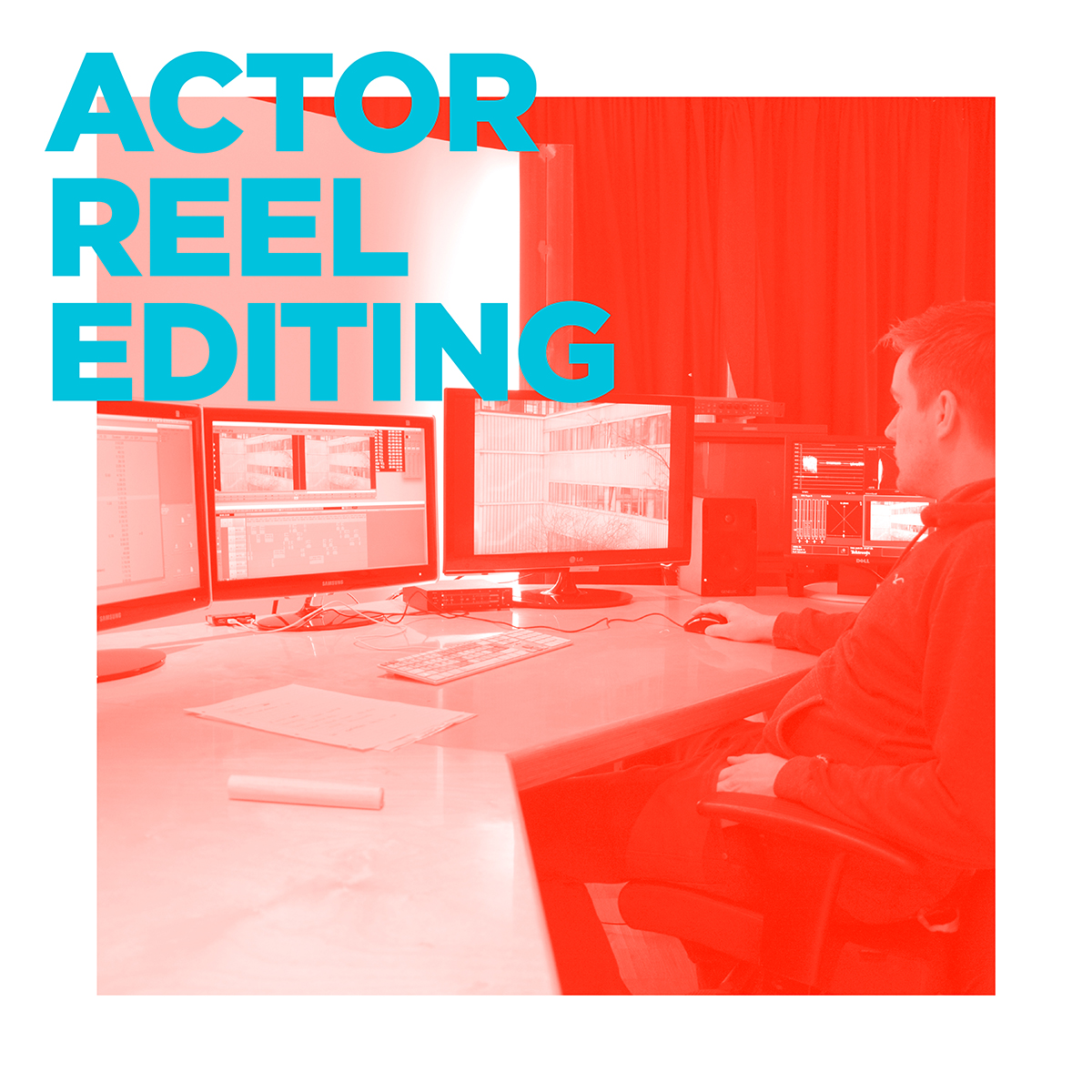 PROFESSIONAL SERVICES - ACTOR REEL EDITING