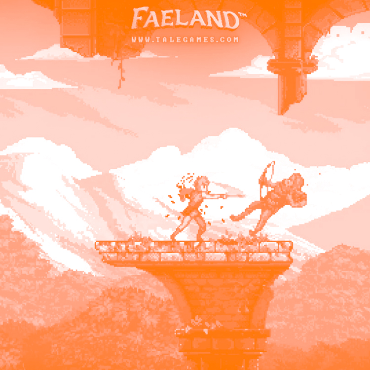 ⫸ FAELAND - An Action Adventure RPG game in a medieval-fantasy world, featuring a pixel art style inspired on 8-Bit classics.CREATED BY: TALEGAMES LLC