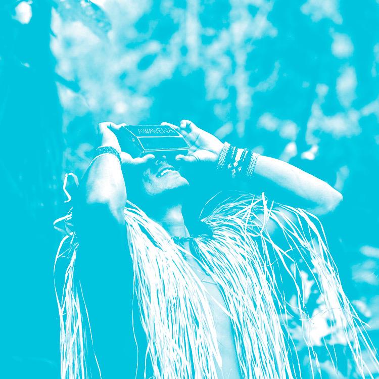 ⫸ AWAVENA: A VR AYAHUASCA JOURNEY TO THE AMAZON - PANELISTS: Lynette Wallworth, creator, Tashka Yawanawa, Chief of the Yawanawa, Mars Wong (Technicolor)MODERATOR: Kim Grinfeder (University of Miami, Interactive)