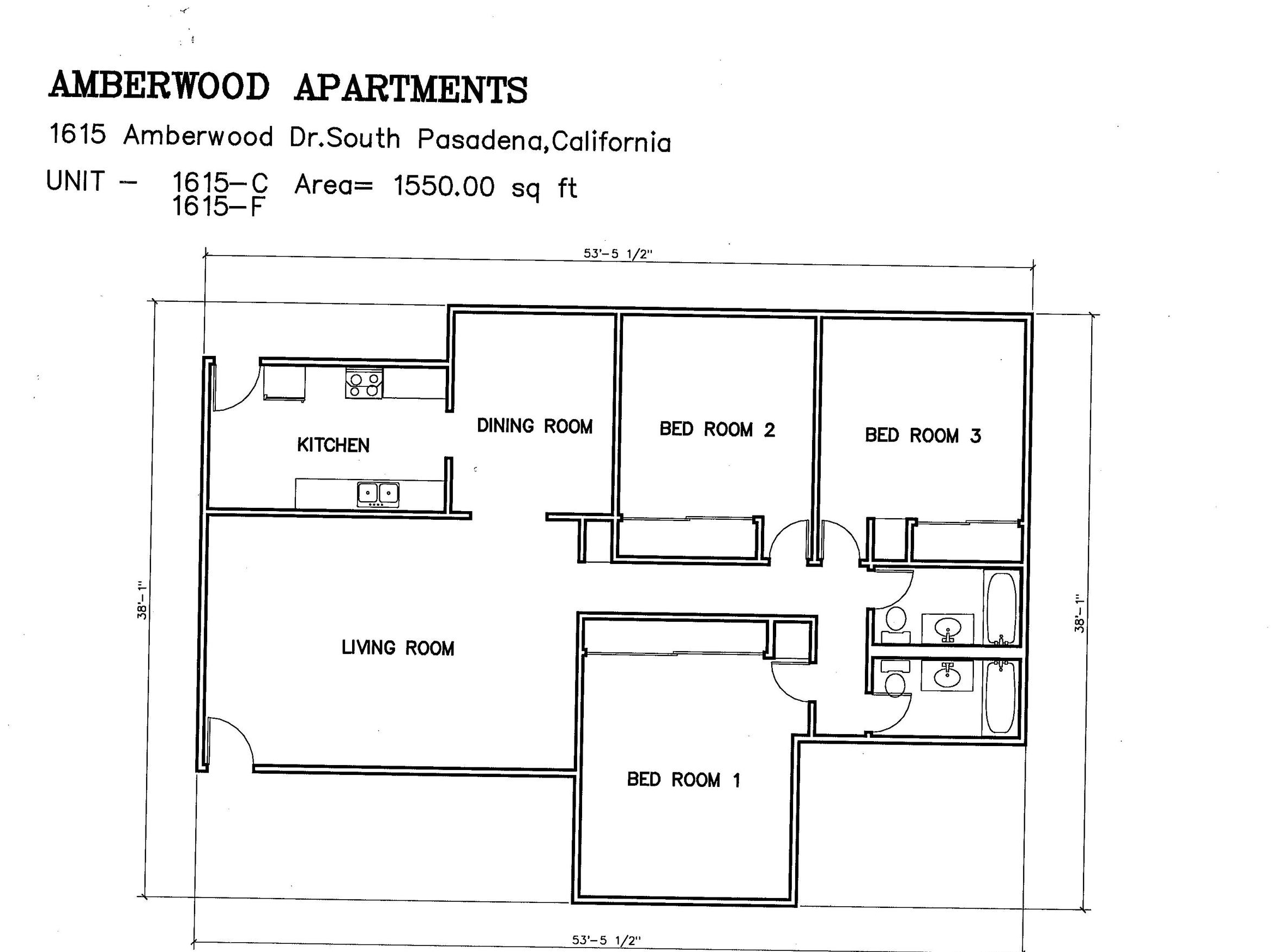 1615 Amberwood Dr Floor Plans Icm Resources Inc