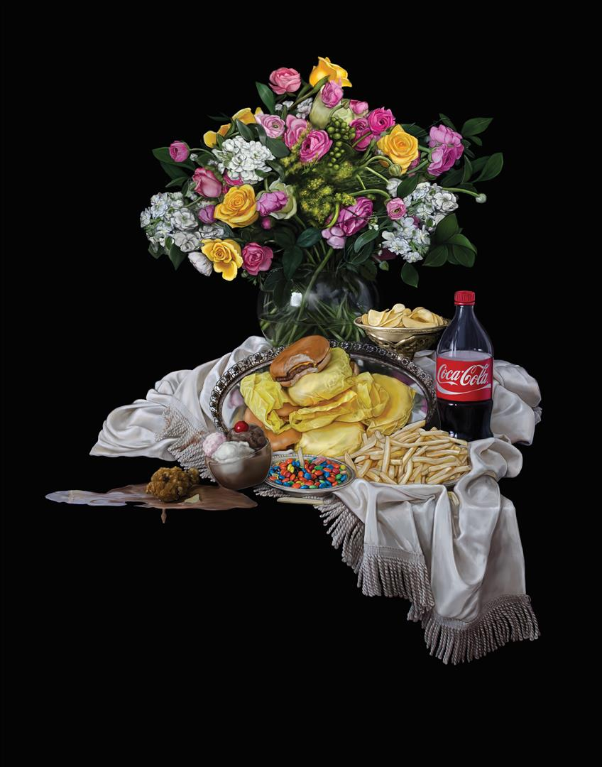 Still Life with Food Issues